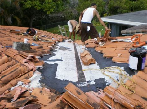 Roof Tile Repair Clay Tile Roof Repair In Miami Lakes Roofer Mike Inc