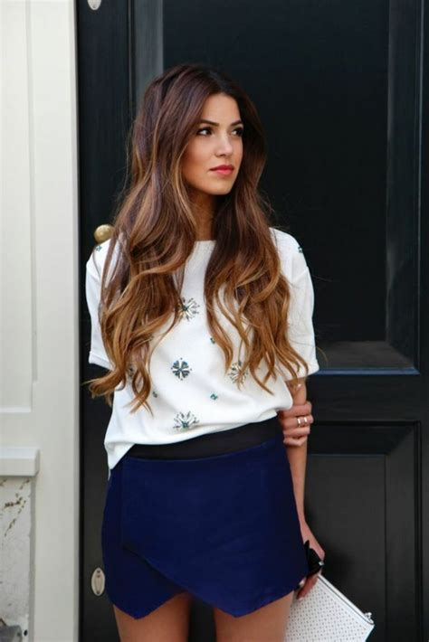 hairstyles for long hair dailymotion 2015 balayage blond ou caramel pour vos cheveux ch 226 tains