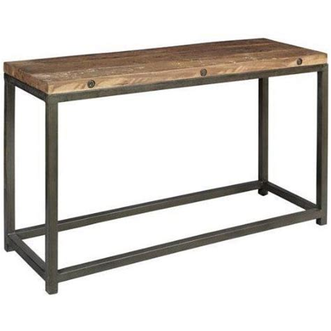 industrial sofa table industrial sofa table home decor pinterest