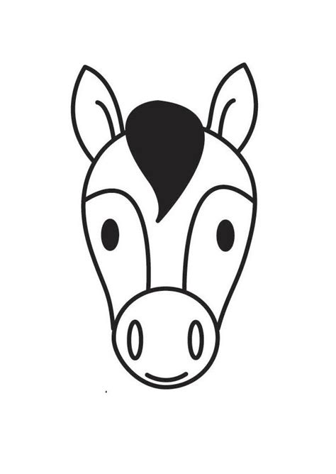 pagina  colorir cabeaa de cavalo img  images