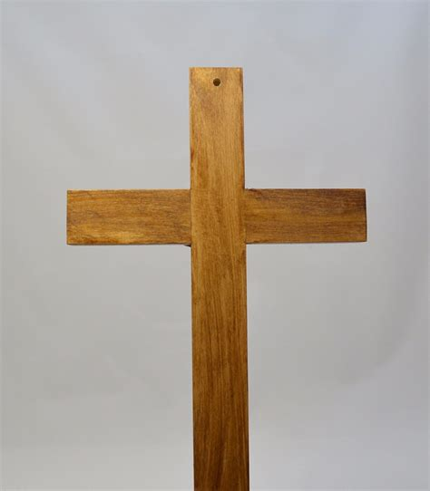Handmade Wood Crosses - large catholic carved wall cross crucifix jesus