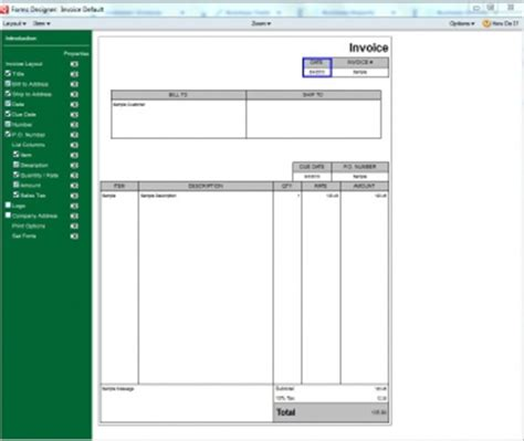 quicken invoice templates quicken invoice templates hardhost info