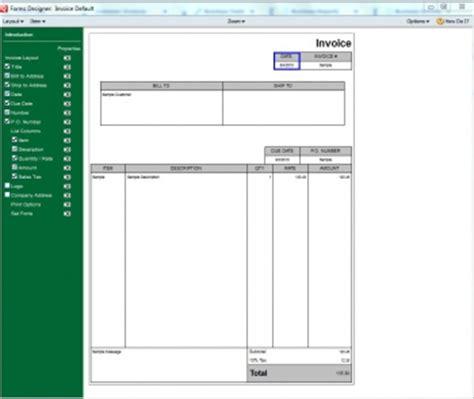 Quicken Invoice Templates quicken invoice templates hardhost info