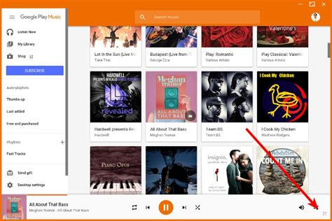 theme google play music google play music desktop player for linux
