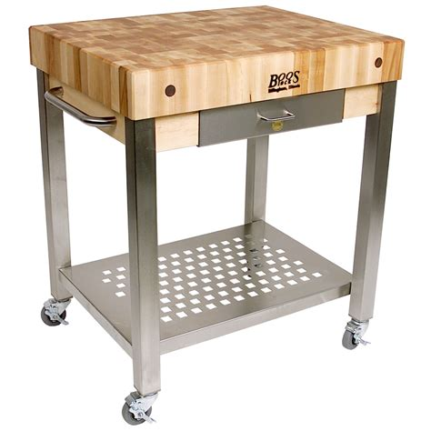 Butchers Block Trolley With Drawers by Butcher Block Cart With Drawer In Kitchen Island Carts