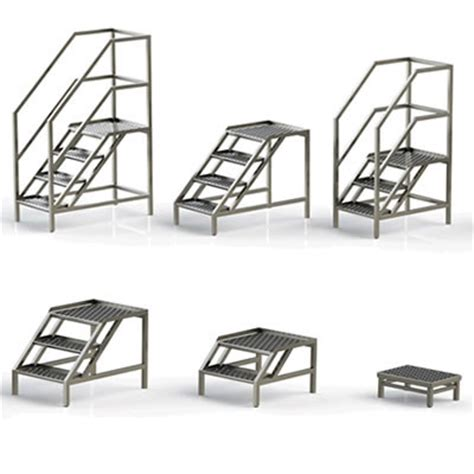 static stainless steel access steps | uk manufacturer
