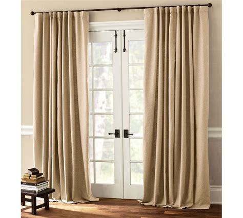 Neutral Curtains Window Treatments Designs Window Treatment For Sliding Patio Doors 2017 Grasscloth Wallpaper