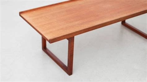 jo bench age jo carlsson coffee table or bench in teak by vetlanda