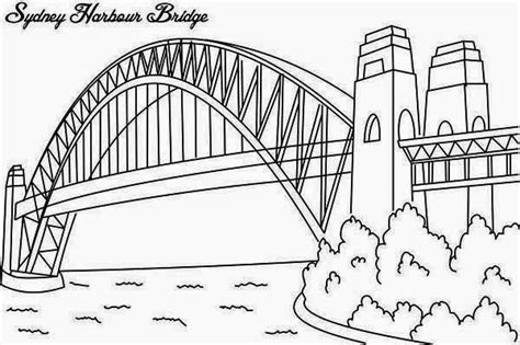 rainbow bridge coloring page bridges printable coloring pages bridges best free