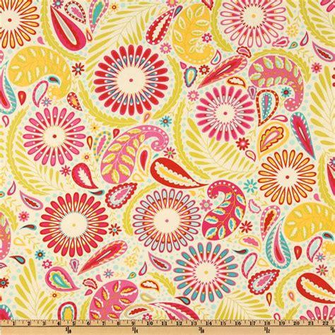 Kumari Garden Fabric by Kumari Garden Sanjay Pink Discount Designer Fabric