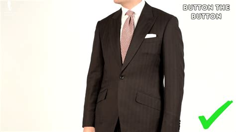 Button Jacket how to button your suits jackets vests overcoats