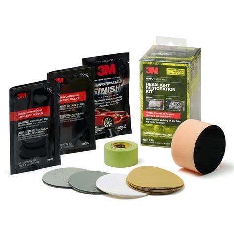 Headlight Restoration Kit by 3m 39098 Headlight Restoration Kit With