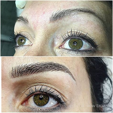 tattoo eyebrows manchester natural eyebrow tattooing hair stroke feather touch