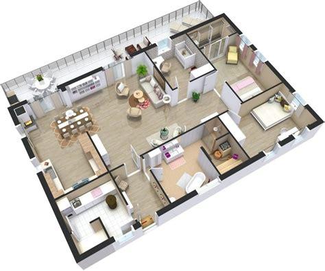 Cuisine Ouverte Sur Salon 30m2 3000 by проекты одноэтажных домов с тремя спальнями удачные