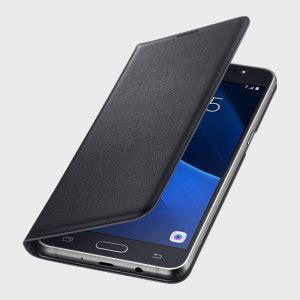 official samsung galaxy j5 2016 flip wallet cover black