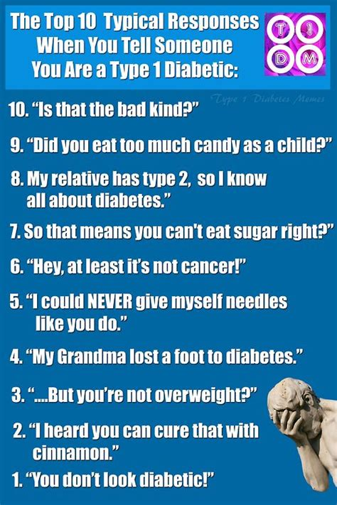 7 Types Of You Do Not Want To Be by Type 1 Diabetes Memes Diabetes Our
