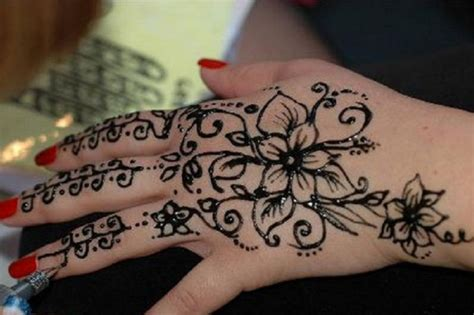 black henna tattoo for left hand inofashionstyle com black henna for left pictures fashion gallery