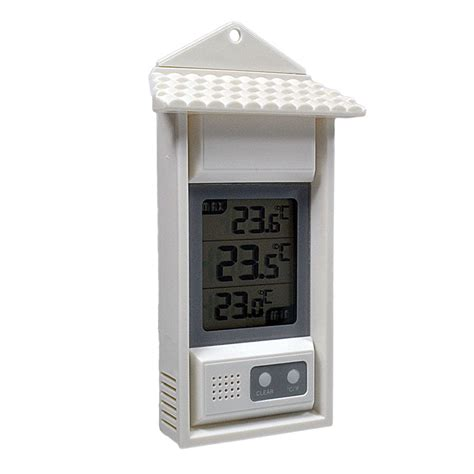 Digital Wall Mounted Room Thermometer by Wall Window Digital Thermometers