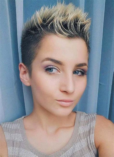 images of somewhat spike womens hair that doesnt look wet 100 short hairstyles for women pixie bob undercut hair