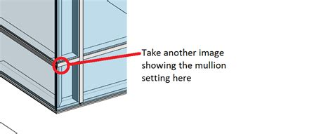 horizontal curtain wall revit revitcity com cleanup horizontal mullion at corner