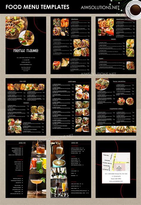 a la carte menu template housekeeping porter sle resume