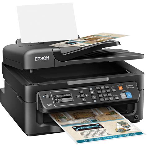 Printer Epson All In One epson workforce wf 2630 all in one inkjet printer