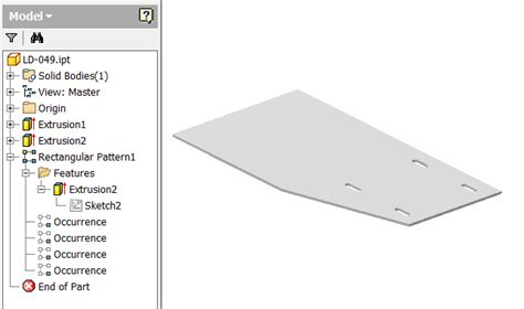rectangular pattern inventor sketch sketch rectangular circular arrays autodesk community