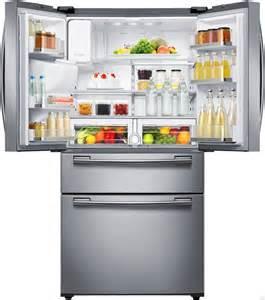 samsung rf25hmedbsr 24 7 cu ft door refrigerator