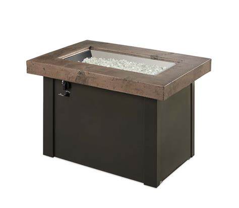 top propane fire pit outdoor greatroom providence gas fire pit noche top