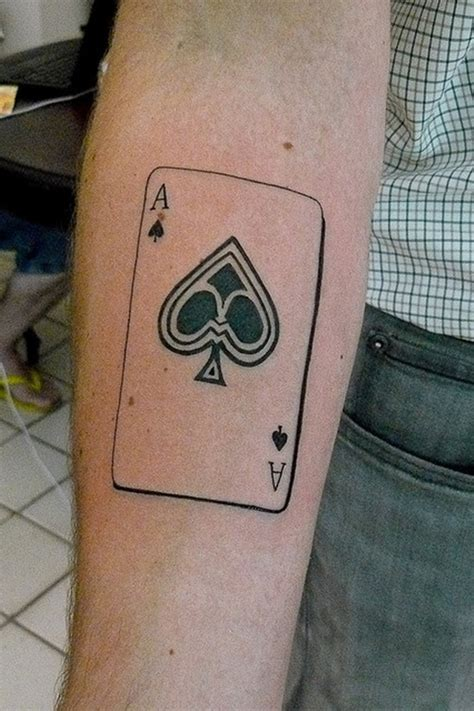tattoo designs ace of spades 30 cool spade designs