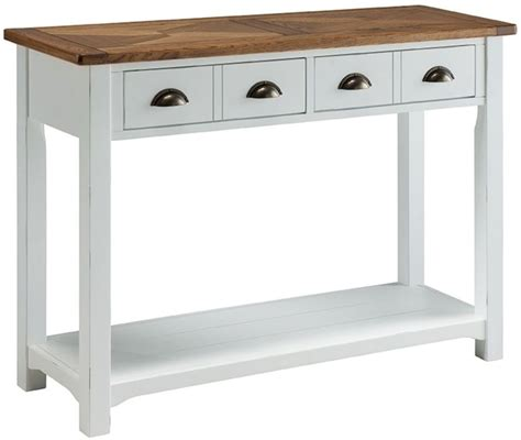 porto painted console table dining room living room