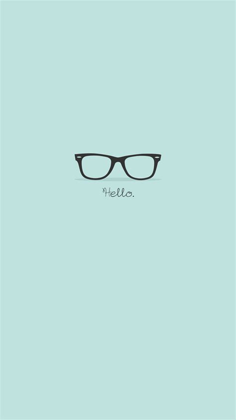wallpaper iphone hipster flat hipster glasses turquoise iphone 5 wallpaper ipod