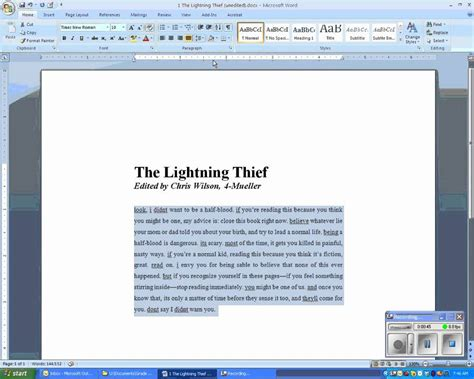 How To Make Your Paper Spaced - how to make your essay spaced on microsoft word