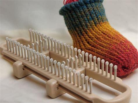 how to knit socks on a loom how to loom knit socks on a sock loom loom