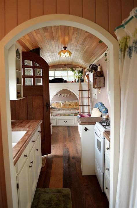 tiny house bus remodelaholic friday favorites tiny house hexagons and a teepee