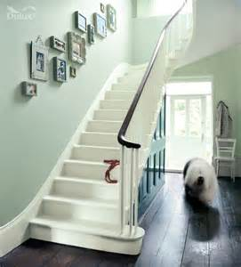 Paint Colors For Hallways And Stairs by Pale Green Hallway Putting Green Apple White And Willow