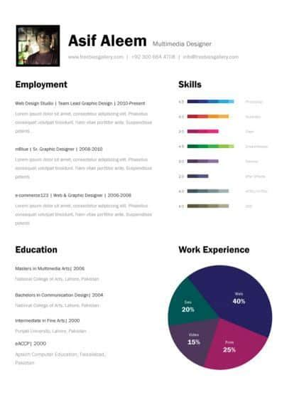 3 Page Resume Template by 21 Free Creative Resume Templates To Consider 85ideas