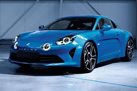 New Renault Alpine A110 Production Car Ready For Geneva