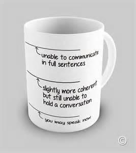 Novelty Wine Glasses Gifts Funny You May Speak Now Coffee Mug Ebay