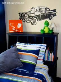 fascinating boy nursery themes design with cool car