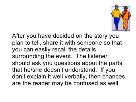 Tips On Writing A Narrative Essay by Writing A Personal Narrative Essay Powerpoint Nozna Net