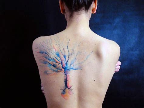 watercolor tattoo haltbarkeit 20 faszinierende designideen f 252 r ein aquarell