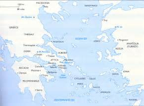 Classical Greece Map by Gateway College Of Evangelism Western Civilization