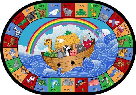 noahs ark rug noah s alphabet animals children s rug jc1610xx carpets