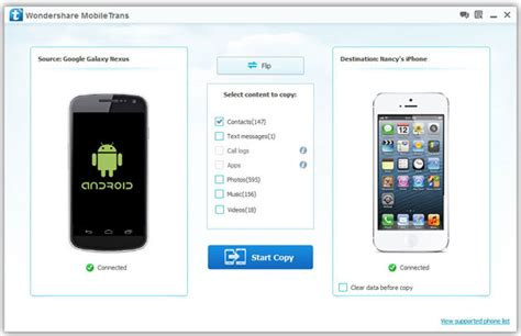 transfer android to android how to transfer contacts from android to iphone 5