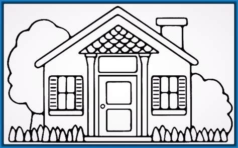 imagenes para pintar la casa imagenes de casas sencillas para colorear archivos