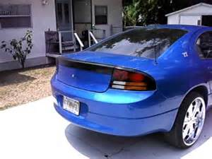 """1999 dodge intrepid bangin' out on 22's """"flossin' car"""