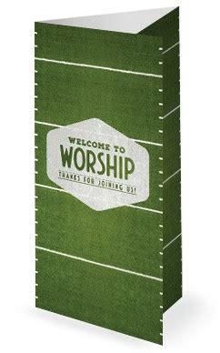 Trifold Church Bulletin Templates For Worship And Sunday Service Worship Bulletin Template
