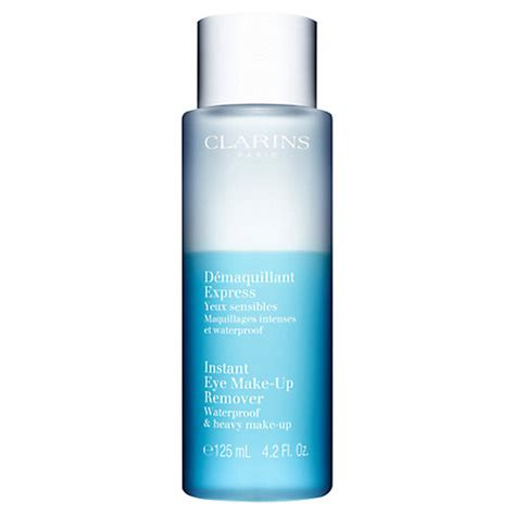 buy clarins instant eye makeup remover, 125ml | john lewis