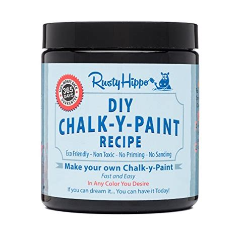 diy chalk paint powder diy chalk paint powder make your own chalk paint in any